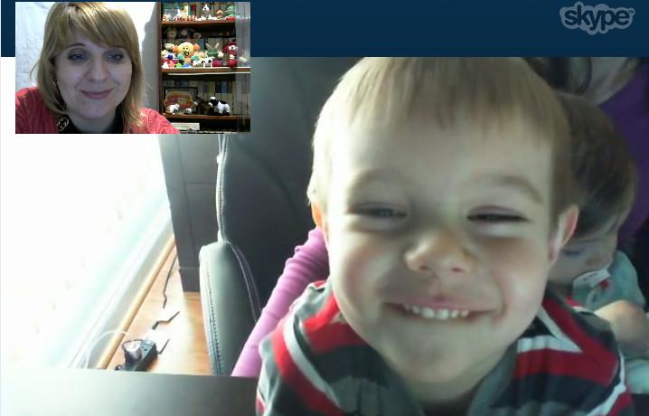 Занятие с логопедом по Skype